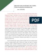 sec. XVII - XIX  Rezumat Teza Doctorat Sergiu Sorin Popescu