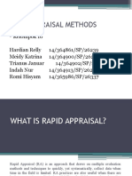 Rapid Appraisal Methods-1
