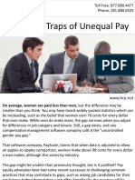 Avoid the Traps of Unequal Pay