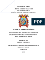 Itc Espinar Ograta Cuba Pacsi - Psicomotricidad y Exp. Oral 2015