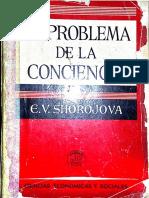 El Problema de La Conciencia - E. v. Shorojova