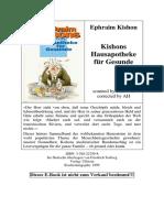 Kishon_Ephraim - Kishons Hausapotheke Für Gesunde