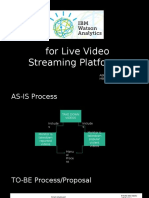 IBM Watson for Live Streaming