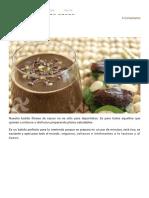 Batido Fitness Cacao