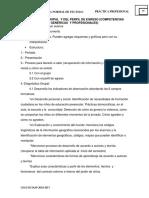 2.1- Redacción de Diagnóstico Del Grupo y Del Perfil de Egreso