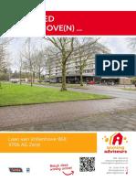 Brochure Laan Van Vollenhove 968, Zeist