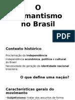 O Romantismo No Brasil