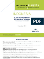 2015 InterMedia FII INDONESIA QuickSights Summary Report