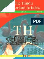 The Hindu Important Articles Jan 30- Feb 05