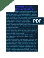 Resumen de La Pelicula de Nell