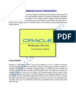 Get Online Training on Oracle Weblogic Server Course