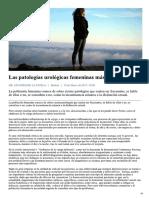 PATOLOGÍAS UROLÓGICAS FEMENINAS