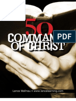 50 Commands of Christ