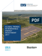 Global Trends in Renewable Energy Investment 2017