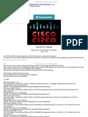 What Is Cisco Iou L3