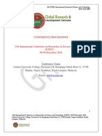 Icrst Proceedings