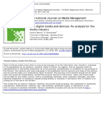 New Digital Media and Devices an Analysis for The