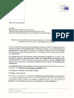 Solicitare adresată Prim-ministrului Sorin Grindeanu, ministrului Afacerilor Interne, Carmen Dan, și inspectorului general al Poliției de Frontieră, Ioan Buda.