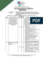 Diagnostico - Ficha de Evaluacion Ambiental