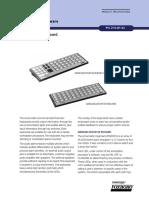 Foxboro P0903CV Annunciator Keyboard Datasheet1 1193616322 118572