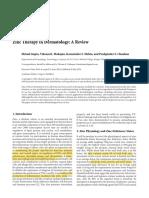 Zinc in Dermatotherapy