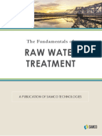The Fundamentals of Raw Water Treatment