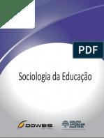 1- Sociologia Da Educação