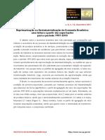 (Ok) Reprimarização Ou Desindustrialização Da Economia Brasileira (Gonçalves)