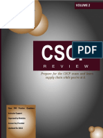 Real World Supply Chain - 2013 CSCP Review (Volume 2)