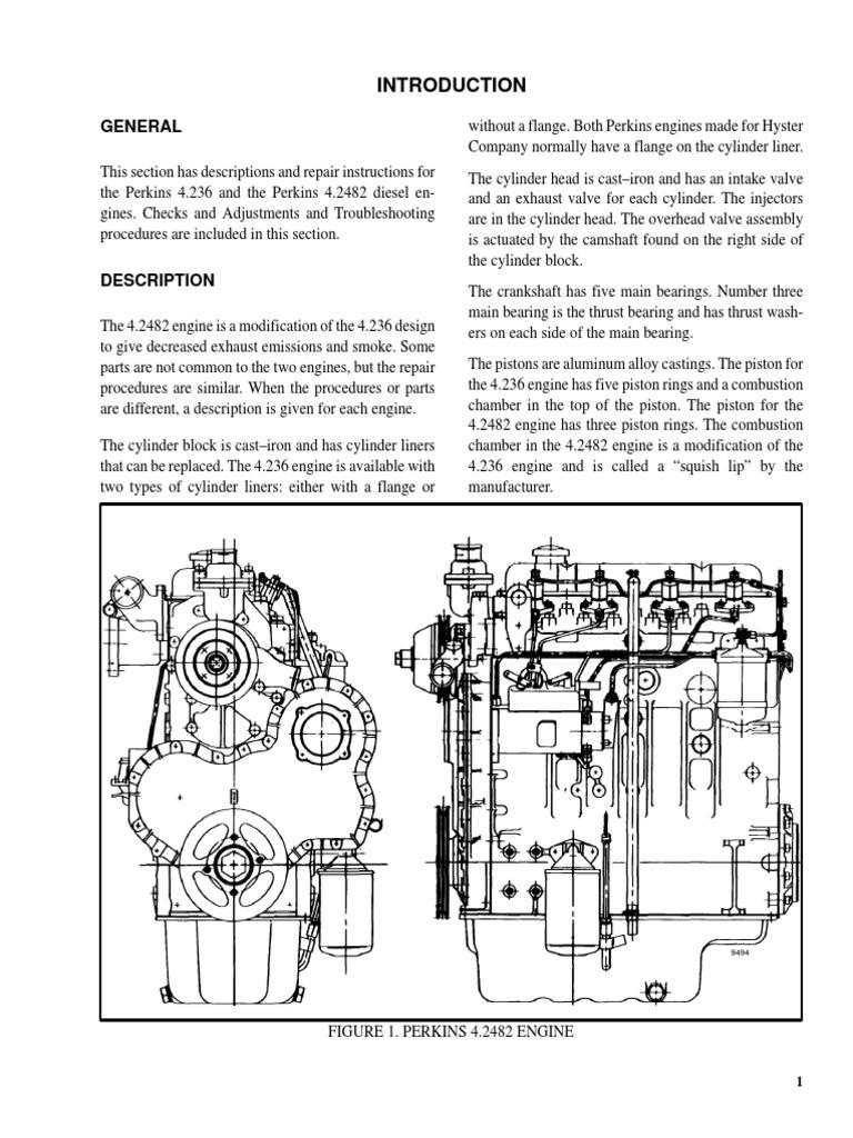 600105-Perkins pdf | Piston | Cylinder (Engine)