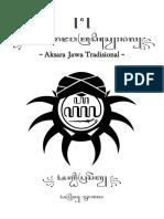 Aksara Jawa Klasik
