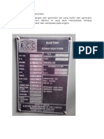 Deskripsi Nameplate Generator