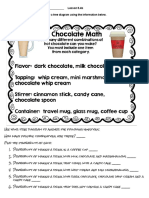 5 4b hot chocolate math