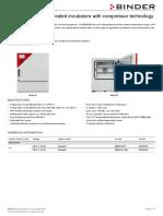 Data Sheet Model KB 053 Us