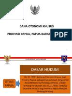 Rnpk 2015 - Otsus Papua Papua Barat Dan Aceh