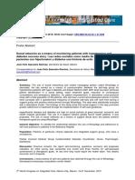 Jose Felix Saavedra Ramirez . Las Redes Sociales Como Medio de Monitoreo en Pacientes