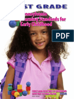 pennsylvania early childhood education standards for first grade