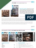 Where Magazine Media Kit 2017
