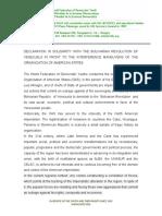 Venezuela Declaration