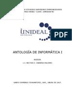Antologia Informatica 1 2017