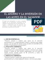 EL AHORRO Y LA INVERSIÓN EN LAS MYPES EN EL SALVADOR PERIODO 2008-2009