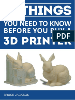10 Things to Know When Buying a 3d Printer