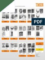 Timken Bearing Damage Analysis Poster 7352L