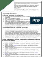 Curriculum Vitae -Paulo Fernando de Souza Bardela V