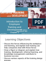 Training & Development by Raymond A. Noe