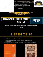 Cie10 Dx Multiaxial
