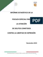 ESTADISTICAS Noviembre 2015 Totales