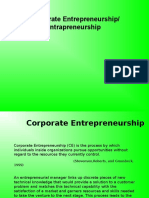 Corporate Entrepreneurship Ppt