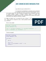 Ejemplos de C++