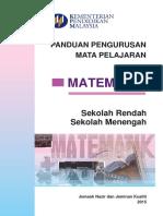 Jnjk Buku Panduan Matematik
